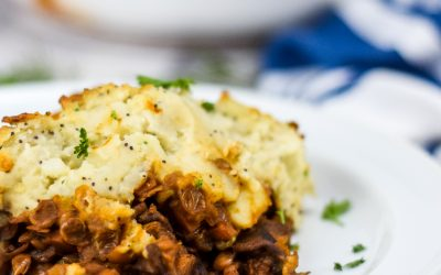 Everything Bagel Style Shepherd's Pie